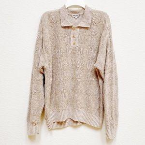 Giorgio Armani Rare Vintage Cream Sweater M